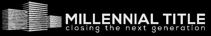 Millennial Title Logo