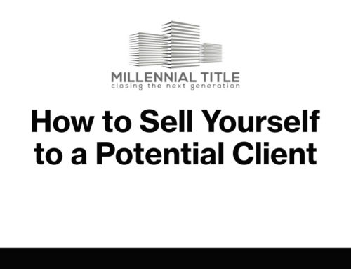 How to Sell Yourself to a Potential Client